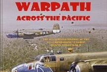 "Warpath Across the Pacific / ""One of the best books ever covering the air war against the Japanese in the South Pacific…This one gets our highest recommendation."" -Zenith Aviation Books  Read the incredible story of the 345th Bomb Group as it battles the Japanese across the Pacific Theater during WWII. https://irandpcorp.com/products/345bg/"