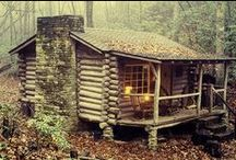 Cabins & Homesteading / by Outdoor Survivalists
