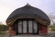 ♥African Traditional huts♥