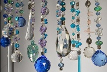♥Beads and Sun catchers to hang round my house♥