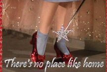 """""""There's no place like home..."""" / Pin your favorite vintage and antique home decor with one thing in mind, """"You've always had the power"""" -Glinda-"""
