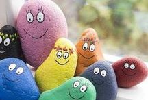 ♥Decorated rocks/pebbles♥