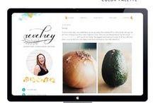Ideas. Blog Design / Ideas para el diseño de un blog