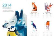 Calendars / Soy una fan de los calendarios :)