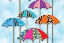 Get a cute umbrella