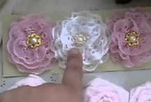 ♥Crafts - flower making and bling centres♥