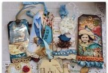 ♥Altered tags and labels♥