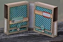 ♥Crafts - mini albums box & suitcase style♥