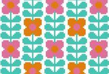 Ideas. Cross Stitch / Patrones de punto de cruz. Mi nueva obsesión :)