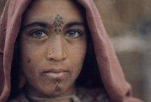 Woman face tattoos / tattoos