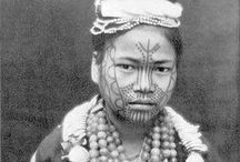 Burmese, Chin woman with tattooed face / http://reisijuht.delfi.ee/news/news/markmeid-myanmarist-vi-tatoveeritud-nagudega-naised?id=73568397
