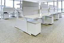 Sit to Stand workstations / desking / Electronically operated sit stand desks are the ideal solution for changing your working position easily and quickly at the touch of a button. Burgtec have designed the Hi-Lo health station which is manufactured in Balcatta WA. Hi-lo is made to order and is suitable for rectangular, L-shape & 120 degree layouts to your specifications.