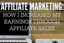Affiliate Marketing / Great tips on Affiliate Marketing for beginners and those established in the field.
