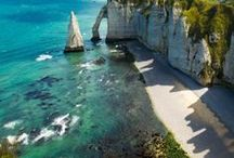 Normandie ❥ / Voyagez en Normandie et partez à la découverte de tous ses trésors !
