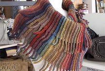 Crochet scarf/cowl/poncho