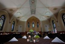 Weddings & Receptions / The Batavia Park District has several venues available for your special day, including the Peg Bond Center, located next to the Fox River in beautiful downtown Batavia, and Shannon Hall, an historic former church.