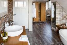 Nieuwe badkamer / Voor een compleet nieuwe badkamer kunt u uw eigen ruimte in huis kiezen en daar uw nieuwe badkamer creëren. Baderie verzorgt alle benodigde werkzaamheden.