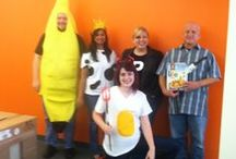 2014 Direct Capital Halloween Party / Decorations, costumes, candy, and team building Halloween games!