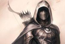 Game Art Personages / Mooi vormgegeven of coole personages van games of die daarin zouden passen