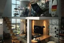 Home Design Decor / Home Design and Decor ideas inspiration, dream, diy, on a budget, small house or apartment, modern style. Projects and awesome ideas.