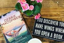 Sweet Tomorrows / The much-anticipated conclusion to my beloved Rose Harbor series, set in the picturesque town of Cedar Cove, Sweet Tomorrows is a vibrant and poignant novel of letting go of fear, following your heart, and embracing the future—come what may. / by Debbie Macomber