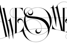 Design: Types and Hand Letterings / fonts, typefaces, hand letterings etc / by Charmaine Louise