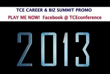 TCE Career & Biz Summit (Oct 11, 2014) / Columbus Day Weekend !  TCE Career & Biz Summit is our yearly signature event.  You will find photos of this event for both our 2013 and 2014 celebrations. To learn more about this event click http://TCESummit2014.Eventbrite.com/  Oct 11 2014 (Includes 7pm Friday TCE Mixer, all panels on Saturday, plated lunch, breakfast treat and extreme connections).