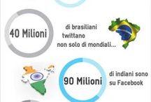 SocialDaily Infografiche / Una raccolta di infografiche sul Social Media Marketing