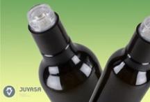 Botellas y Tapones para Aceite y Vinagre / Aquí encontrarás las mejores botellas de cristal para tu aceite y vinagre favorito. Descubre el sistema de cierre que mejor se adapta a tus necesidades en wwww.juvasa.com.