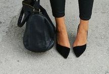 Black On Black / All black fashion inspiration for hairstylists and future professionals