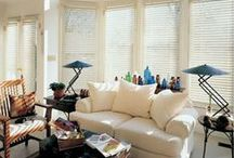 Windows, curtains and blinds