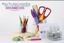 MANUALIDADES DIY - HAZLO TU MISM@ / La creatividad no tiene límites!! Reutiliza tus envases de vidrio y súmate a la moda DIY.