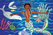 Ebony Mermaids / Mostly Ebony Mermaids