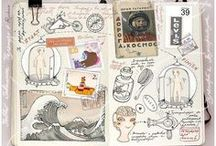 Creative Journaling / Creative journaling ideas / by Michaela Cristallo [For the Creators]
