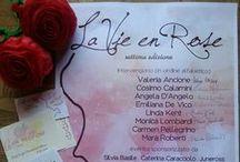 Locandine e gadgets evento letterario La Vie en Rose / Locandine e gadgets evento letterario La Vie en Rose - dal 2009 al 2015