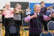 National Senior Health and Fitness Day Events & Photos / Check out Silver&Fit events going on in your area for National Senior Health and Fitness Day!  / by Silver&Fit