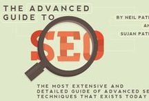 SEO: Search Engine Optimization / So you have a website. Great! Now it's time to get your site noticed online. Here are some of the ways to do so: / by Bixa Media