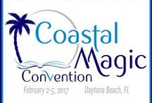 Coastal Magic Logo / Coastal Magic is a super casual convention and book signing in Daytona Beach, FL. Our goal is to bring authors and readers of urban fantasy, paranormal, and the many facets of romance together for the weekend.    Come take a bite out of the beach with us!! Feb 2-5, 2017