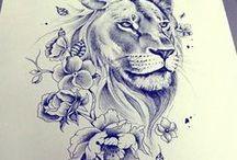 crazy artist - black&white&animals...