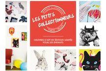 Univers - Les Petits Collectionneurs // Paris, France.  Art for kids / more details : www.lespetitscollectionneurs.com