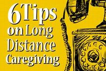 Long-Distance Caregiving / Tips and advice on managing the many challenges of long-distance caregiving.  / by BeSmartBeWell.com