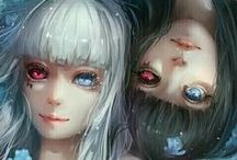 Tokyo Ghoul ♥ / My favourite anime by the moment and amazing fanart.