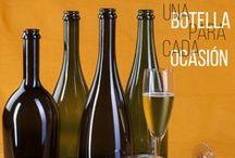 Botellas para Cava y Espumosos / Aquí encontrarás una gran variedad de modelos de botellas para cava y espumosos.