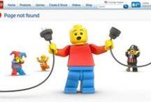 Error 404 Creativity / La pagina di errore 404 può essere un'occasione per sfoderare creatività, ironia e umorismo