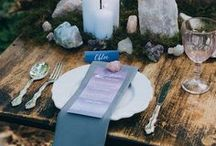 Boho Wedding Decor Ideas / Ideas, inspiration and tips for bohemian wedding decor styling. Inspo for ceremony areas, table setups and centrepieces, and accessories.