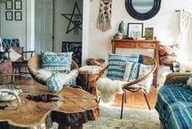 Dream Boho House / Boho Interior Decor Inspiration