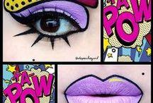 ~ Colourful HAIR * MAKE UP * NAILS ~ / Nails - Beauty - Colorful Hair - Makeup -  Rainbow Hair - Sugerpill Cosmetics  / by Di Ana