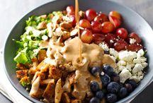 Salads that inspire me to eat my veggies!