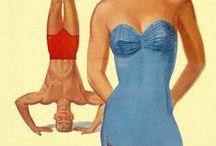 Vintage Bathing Suit Ads / by Debbie Jackson