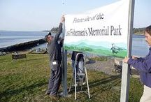 In the Media / Media stories about the Lost Fishermen's Memorial Park